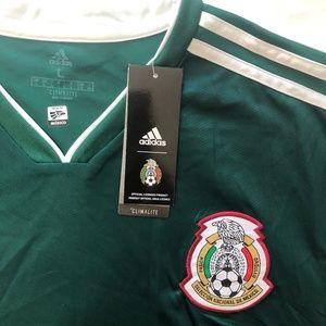 "NWT Adidas ""Soy Mexico"" Football Jersey - Mens LRG"